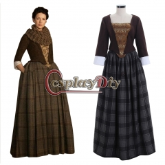 Outlander Jenny Fraser Murray Dress Medieval Costume