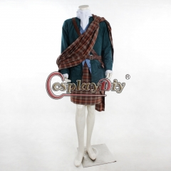 Outlander Jamie Fraser cosplay costume men's outfit