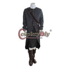 Outlander TV series cosplay costume Jamie Fraser cosplay costume man's outfit