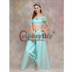Aladdin Jasmine Princess Dress Costume Party cosplay costume