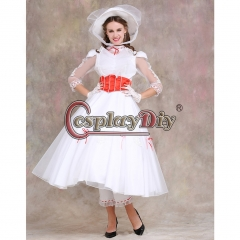 Mary Poppins Dress Costume Wedding Party Dress