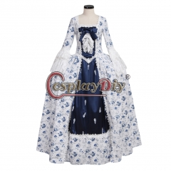 Women's Marie Antoinette Baroque Medieval Dress Renaissance Costume Dress ROCOCO dress