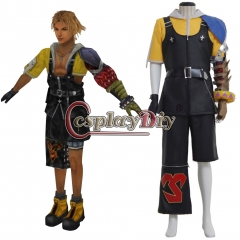 Final Fantasy X 10 Tidus Cosplay Costume