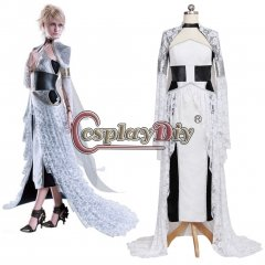 Kingsglaive Final Fantasy XV Lunafreya Nox Fleuret Dress Cosplay Costume