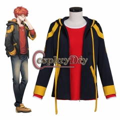 Game Mystic Messenger 707 Top Jacket Cosplay Costume