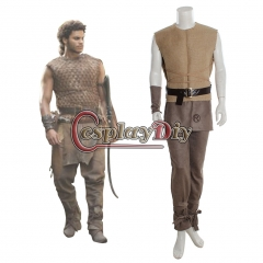 Game of Thrones Kovarro Dothraki Adult Men's Halloween Outfit Costume Made Cosplay Costume