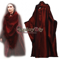 Game of Thrones The Red Woman Melisandre Dress Cosplay Costume Suit Outfit Whole Set Hot Halloween Carnival For Women full set