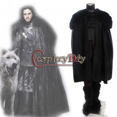 Game of Thrones Jon Snow Adult Men's Halloween Outfit Cosplay Costume