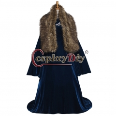 Custom Made Game of thrones Sansa Stark Cosplay Costume Adult Winter Halloween Carnival Cosplay Dress