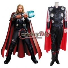 The Avengers Ultron Thor Odinson Cosplay Costume Superhero Outfit
