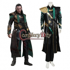The Avengers Thor Loki Cosplay Costume