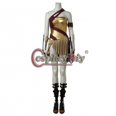 (with shoes) Wonder Woman Cosplay Diana Prince Costume Carnival Fancy battle suit