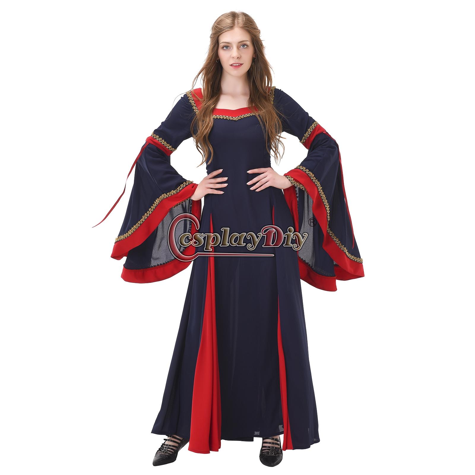 New Arrival Women Medieval Dress Renaissance Victorian Dress Ball ...