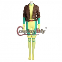 X-Men Rogue Cosplay Costume Outfit Halloween Carnival Costume
