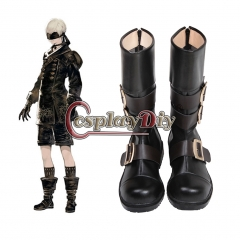 Cosplaydiy NieR:Automata YoRHa No. 9 Type S Shoes