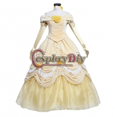 Beauty and the Beast Princess Belle dress velvet dress