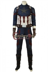 Avengers Infinity War Captain America Cosplay Costume Steve Rogers suit outfit