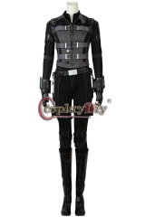 (with shoes)Avengers Infinity War Natasha Romanoff Black Widow Cosplay Costume