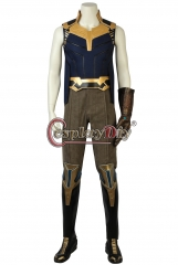 (with shoes)Avengers Infinity War Thanos Cosplay Costume