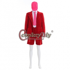 ACDC Band Red Outsuit For Adult Men's cosplay Costume