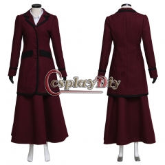 Cosplaydiy Doctor Who 8th Season Missy Mistress Cosplay Costume