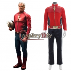 The Flash Cosplay Costume Suit Outfit Adult Men's Halloween Carnival Cosplay Costume