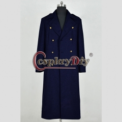 Doctor Who Torchwood Cosplay Costume Dark Blue Trench Coat