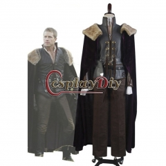 Prince Charming David Nolan in Enchanted Forest Outfit Costume for Once Upon a Time Cosplay