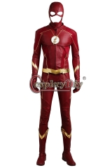 The Flash Season 4 Barry Allen Flash Cosplay Costume Halloween Costumes for adult Men