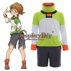 Cosplaydiy Voltron: Legendary Defender Pidge Cosplay Costume Full Suit
