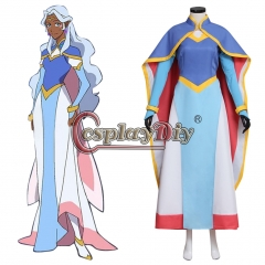 Cosplaydiy Voltron: Legendary Defender Princess Allura Cosplay Costume Halloween Party
