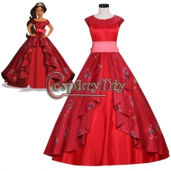 Elena of Avalor Elena Princess Dress Adult Ball Gown Dress v02