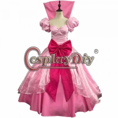 Tiana Princess Cosplay Dress Princess and the Frog Tiana Dress Costume Pink dress