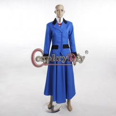 Mary Poppins Nancy Blue Dress Suit Outfit