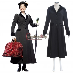 Mary Poppins Costume NANNY Fancy Dress