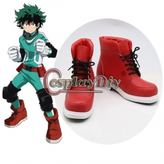 My Hero Academia Boku no Hero Akademia Izuku Midoriya Cosplay Shoes