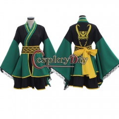 The Avengers Thor Loki kimono dress