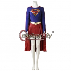 (without shoes)Supergirl Kara Zor-El Danvers Cosplay Costume
