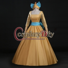Princess Anastasia yellow dress