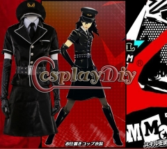 Persona Dancing Star Night Joker Protagonist Akira Kurusu Cosplay Costume