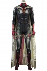 Avengers Infinity War Vision cosplay costume outfit