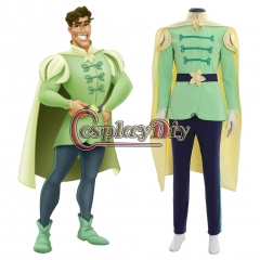 Princess and the Frog Prince cosplay Costume outfit
