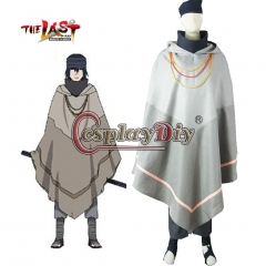 Anime Naruto The movie The last-Uchiha Sasuke Cosplay Costume For Halloween Custom Made