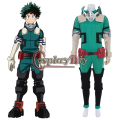 My Hero Academia Season3 Izuku Midoriya Deku Cosplay Costume