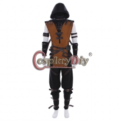 Mortal Kombat X Scorpion Cosplay Costume custom made