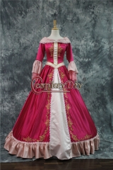 Beauty and the Beast Belle RED Dress Belle ball gown