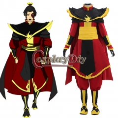 Avatar The Last Airbender Prince Zuko Azula Cosplay Costume