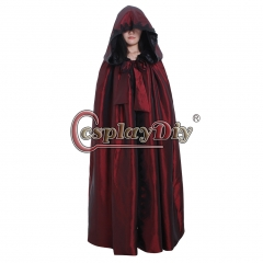 HALLOWEEN RED CAPE ADULT