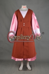 Doctor Who Jo Grant Cosplay costume custom made