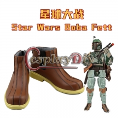 Star Wars Boba Fett cosplay costume shoes